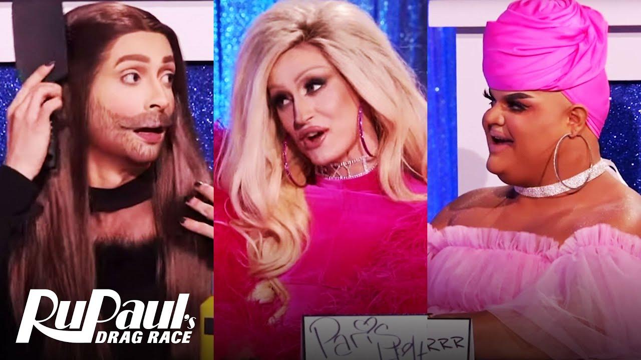Download Snatch Game w/ Paris Hilton, JVN, Patrick Starrr, & MORE! 🎬 | RuPaul's Drag Race