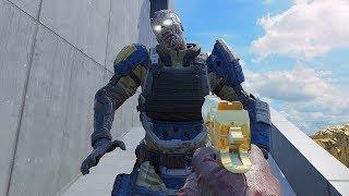 NEW ZOMBIE TOWER CHALLENGE *VERY HARD* (Call Of Duty Custom Zombies)