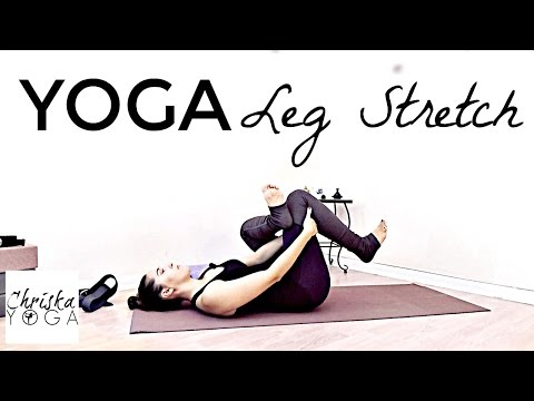 Yoga Leg Stretch - 30 Min Yoga for Leg & Hamstring Flexibility - Yoga for Runners - At Home Yoga