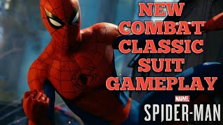 Spider Man PS4 Classic Suit NEW Combat NEVER BEFORE SEEN GAMEPLAY  Marvel SpiderMan PS4 Pro