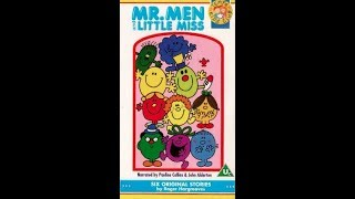 Mr  Men and Little Miss - Six Original Stories [VHS] (1991)