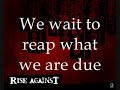 Rise Against - Re-Education (Lyrics) *HQ*