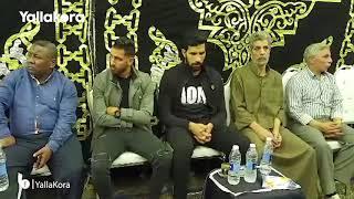 شيكابالا ومؤمن زكريا على رأس نجوم الكرة المصرية في عزاء علاء علي
