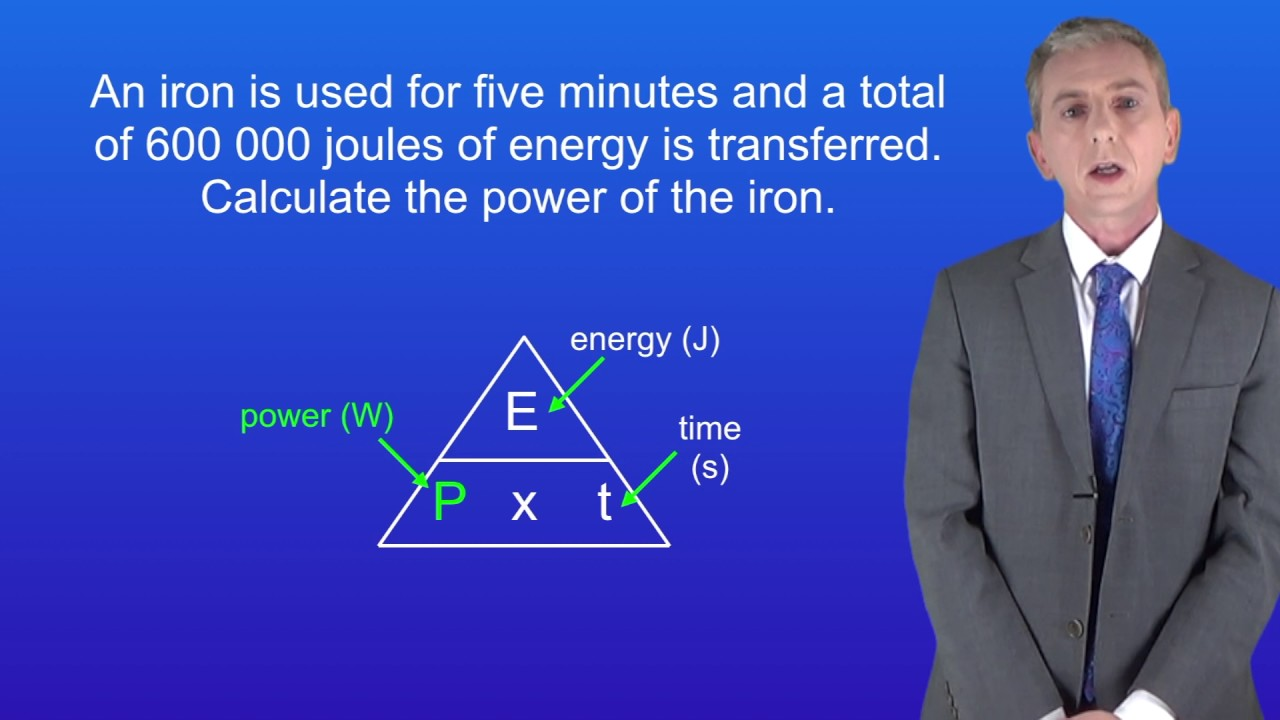 Gcse Science Physics 9 1 Calculating Energy Transferred By Example Of Electrical Transfer Diagrams Appliances