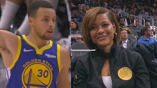Stephen Curry Impresses His Mom Dad Sonya Dell Curry
