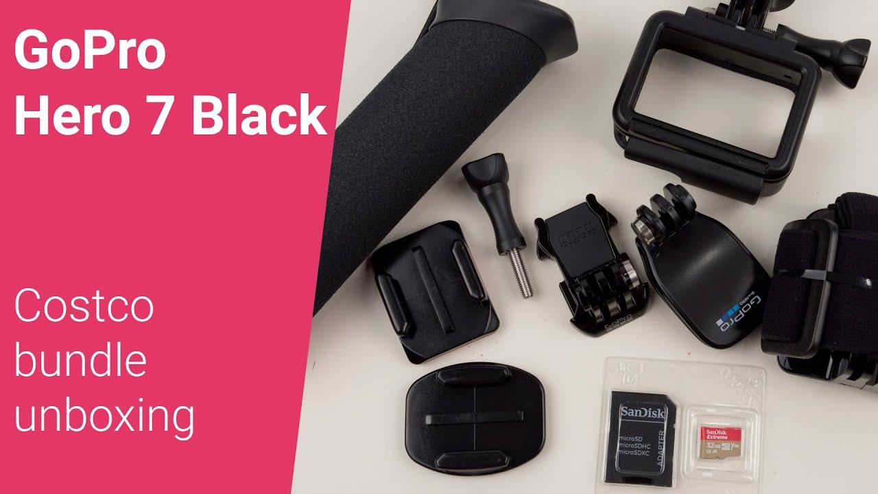 Unboxing GoPro 7 Black Costco Bundle