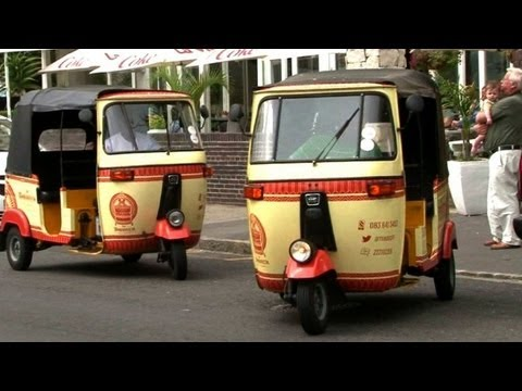 South African tuk tuks on a collision course with the law