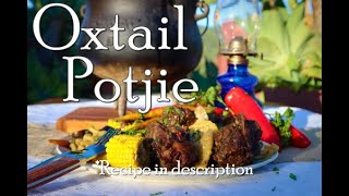 How to make a South African OXTAIL Potjie | Cast Iron Cooking | Wolkberg Artisans | Potjiekos | Stew