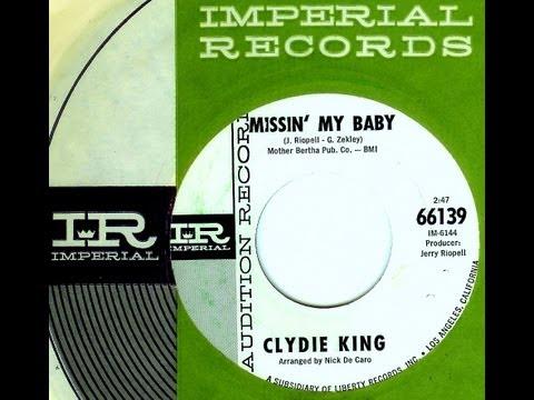 Clydie King - MISSIN' MY BABY  (Gold Star Studio)  (1965)