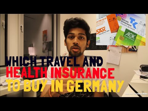 Student Life: How to get TRAVEL INSURANCE  & HEALTH INSURANCE in Germany?- PART 2 | BERLIN VLOG