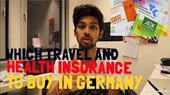 TRAVEL INSURANCE  & HEALTH INSURANCE in Germany?- PART 2   BERLIN VLOG