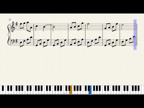 Menghitung hari(piano version)