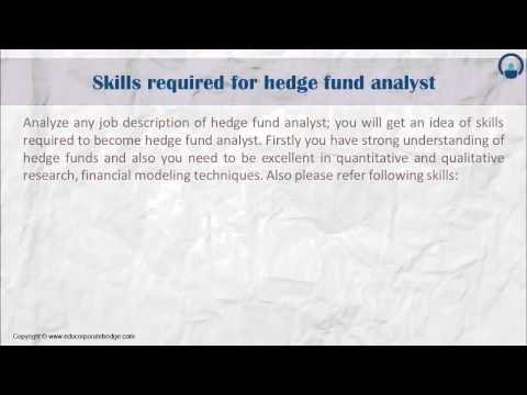 Hedge Fund Analyst
