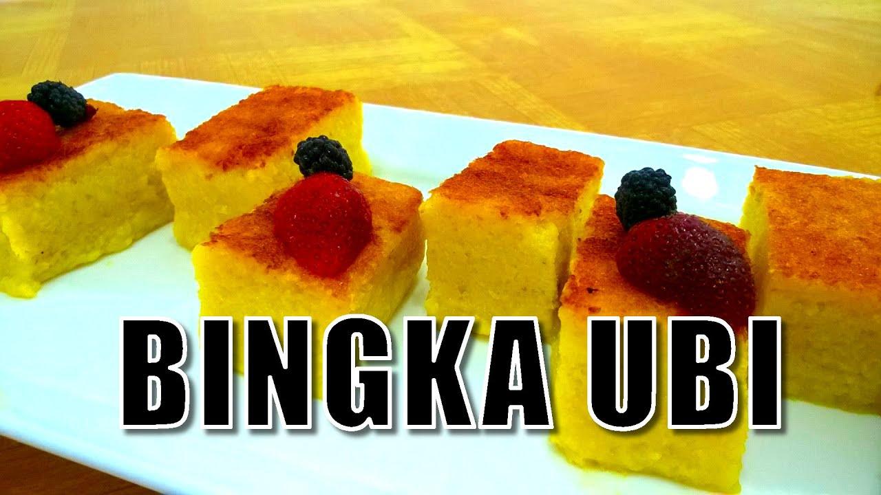 Resep Kue Bingka Cara Membuat Kue Bingka Ubi Youtube