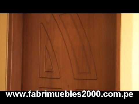 Venta de puertas de madera youtube - Pueras de madera ...