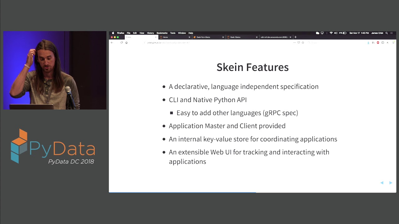 Image from Skein: a simpler way to deploy applications on Hadoop Clusters - Jim Crist