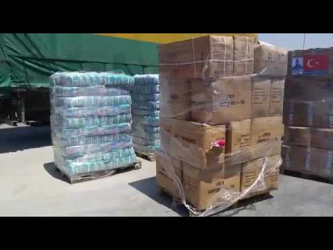 Turkish aid supplies headed to Gaza