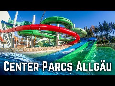 NEW WATERPARK IN GERMANY: Aqua Mundo Allgäu (All Slides POV)