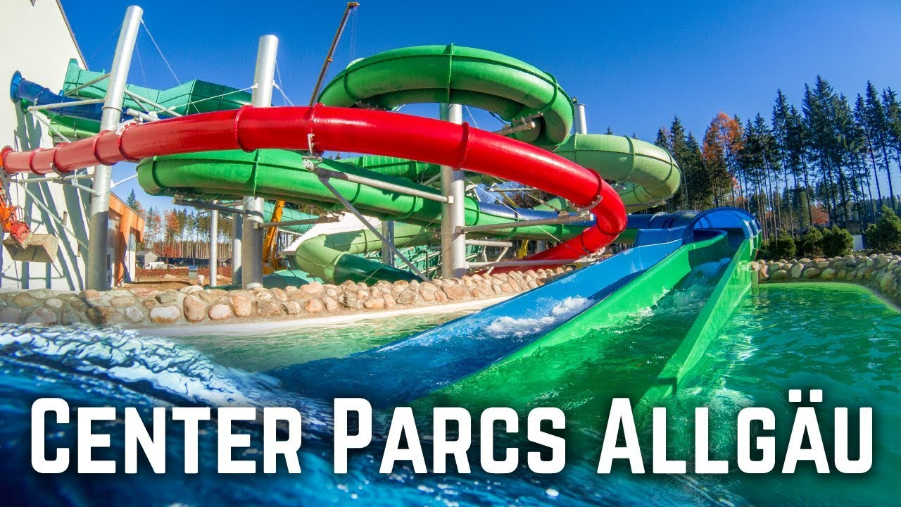 Beste Zwembad Centerparcs New Waterpark In Germany Aqua Mundo Allgäu All Slides Pov