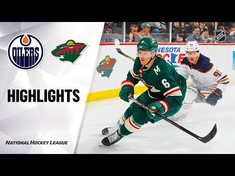 NHL Highlights   Oilers @ Wild 12/12/19