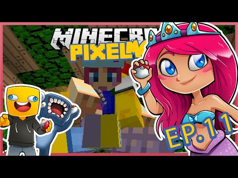 Pixelmon With Squid & Ash! Ep.11 Musical Chairs Fun! | Minecraft Lets Play | Amy Lee33
