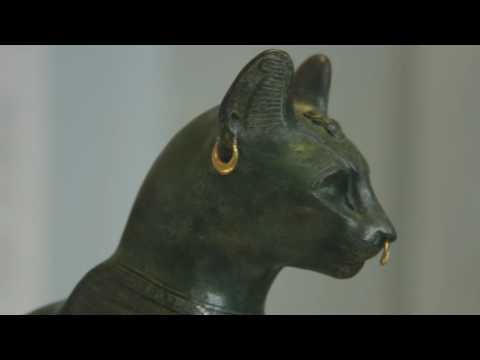 Gayer-Anderson Cat - British Museum - June 2016