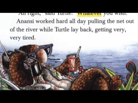 Anansi goes fishing youtube for Anansi goes fishing