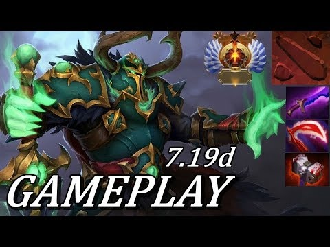 Dota 2 PURE SINGLE TARGET FOCUS! Wraith King Ranked Gameplay Commentary