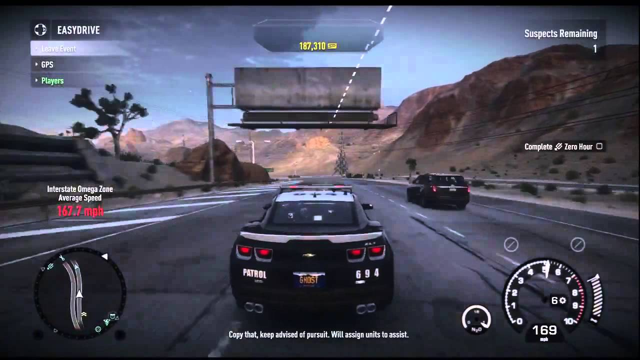 Need For Speed Rivals Chevrolet Camaro Gameplay Youtube