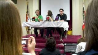 Vic Mignogna Laura Bailey and Travis Willingham discuss ages