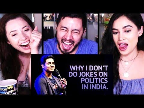 KENNY SEBASTIAN: WHY I DON'T DO JOKES ABOUT POLITICS | Reaction!
