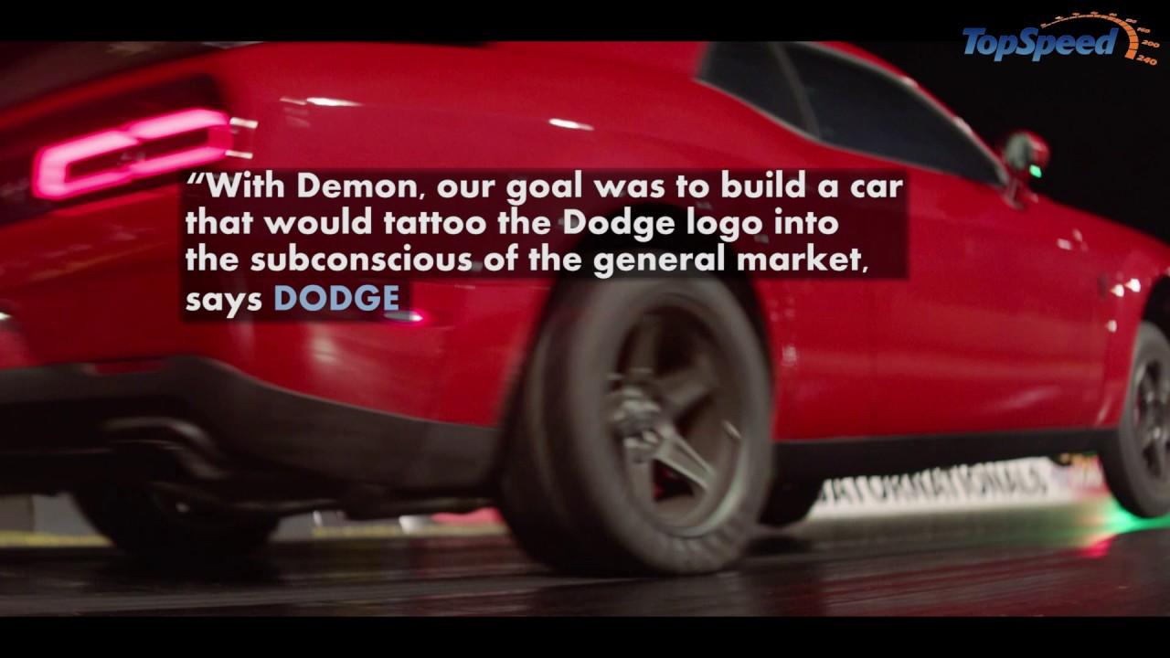 2018 dodge build. Wonderful Build 2018 Dodge Challenger SRT Demon Inside Dodge Build T