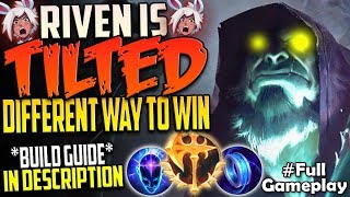 THIS RIVEN IS TILTED | DIFFERENT WAY TO WIN | Conqueror Yorick vs Riven TOP RANKED SEASON 8 Gameplay