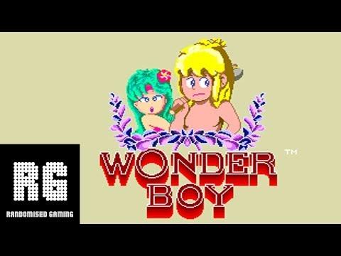 Wonder Boy - 1986 Arcade Version Gameplay