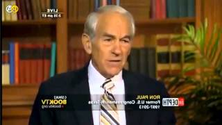Ron Paul Destroys Socialism and Talks About Anarchy on C-Span