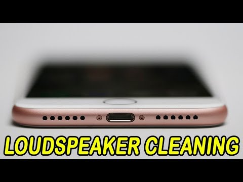 How to Clean Dust From Your iPhone Loudspeaker Grills at Home