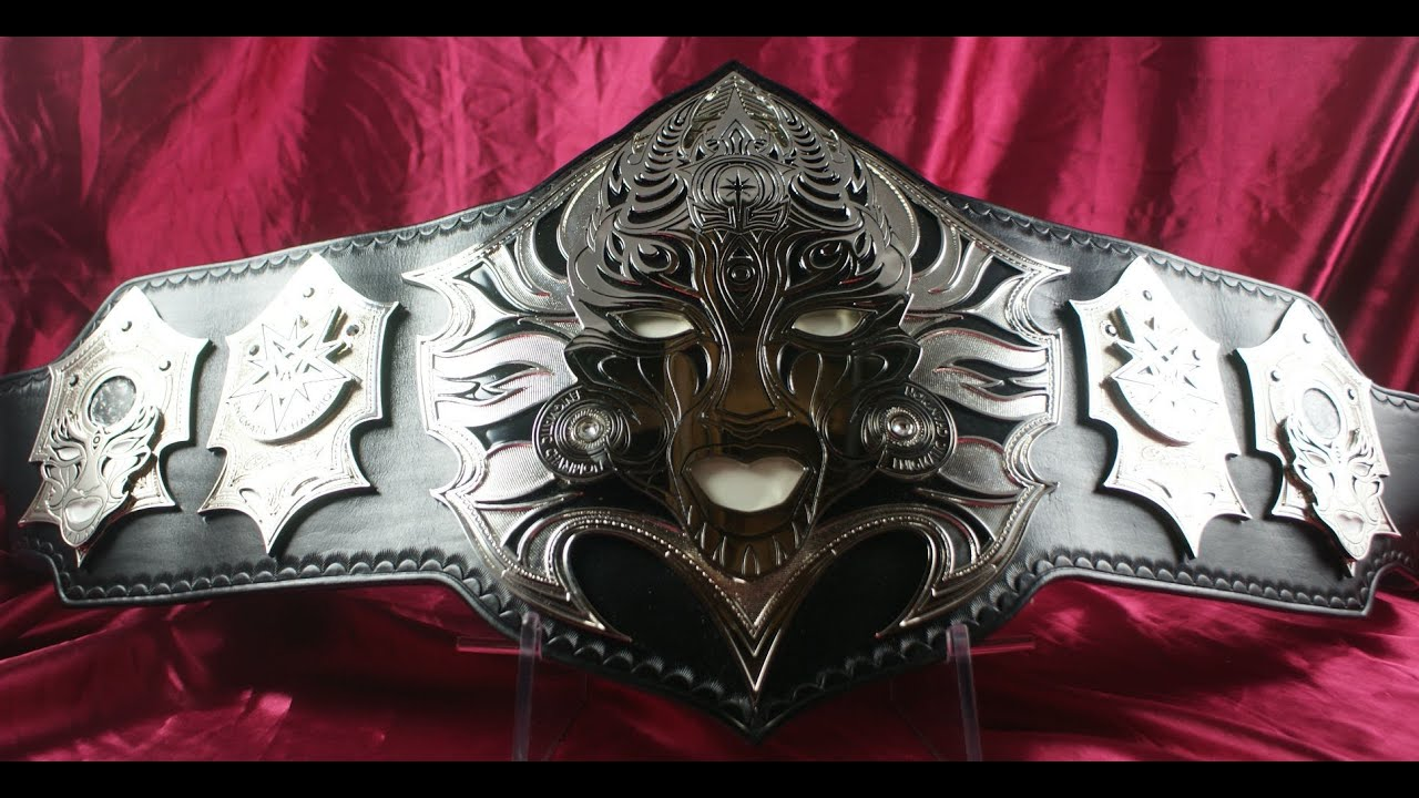 NEW TNA JEFF HARDY OMEGA WORLD CHAMPIONSHIP BELT! - YouTube