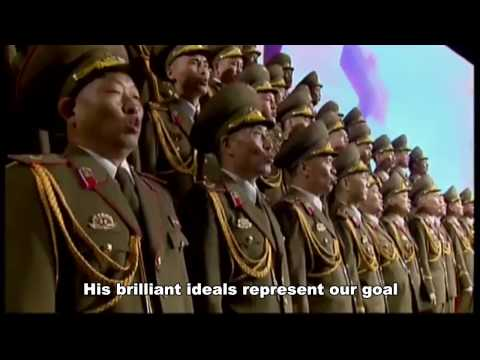 Great Comrade Kim Jong un - [English] | North Korea Music