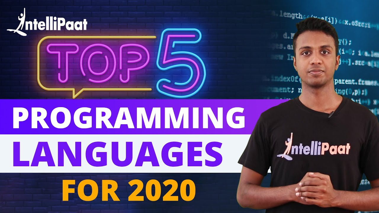 Best Programming Language to learn in 2020 For Job | Intellipaat