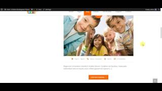 Fable - Children Kindergarten WordPress Theme: Assigning Widget Area Locally
