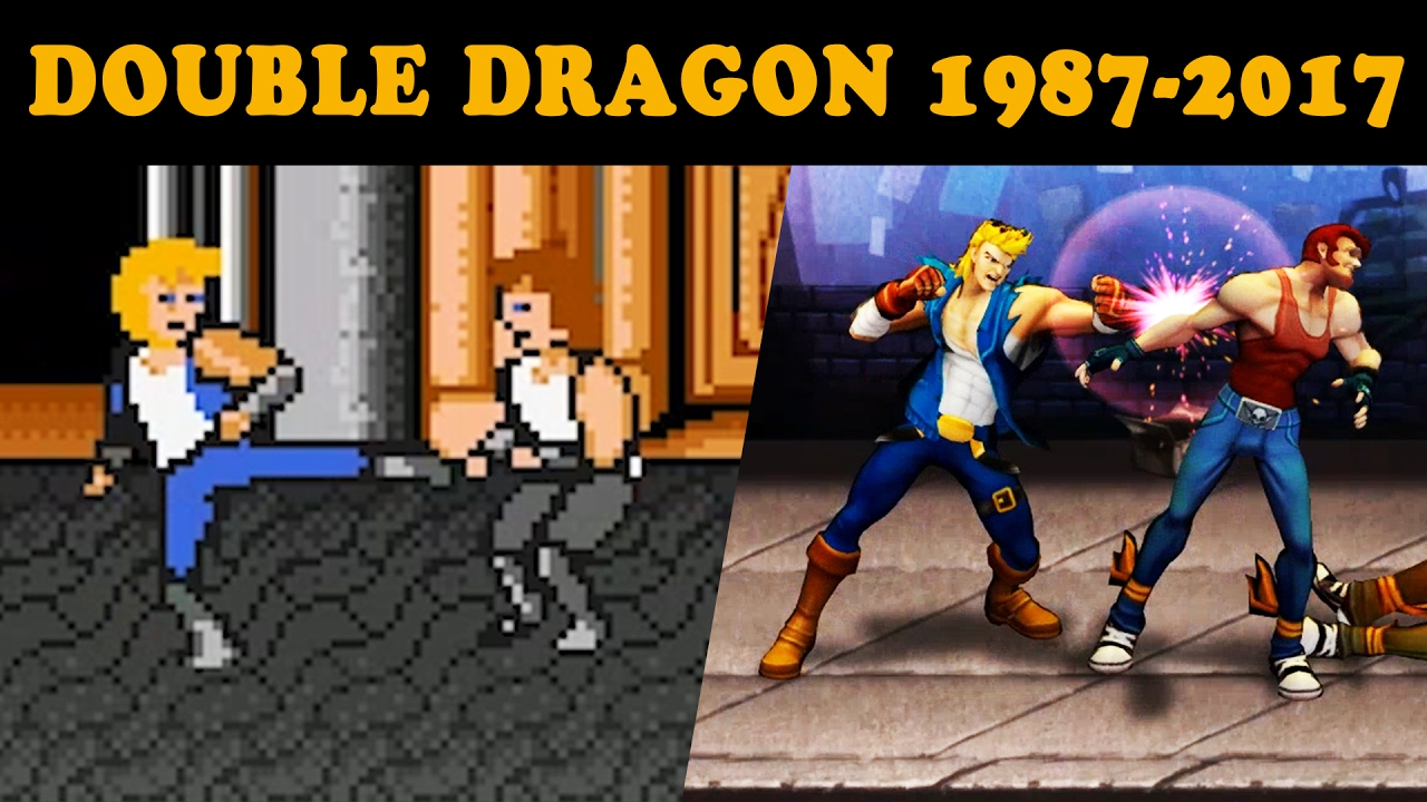 Double Dragon 1987 2017 A Little History Of Double Dragon Youtube