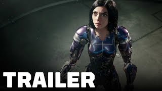 Alita: Battle Angel Trailer (2019) Rosa Salazar, Christoph Waltz