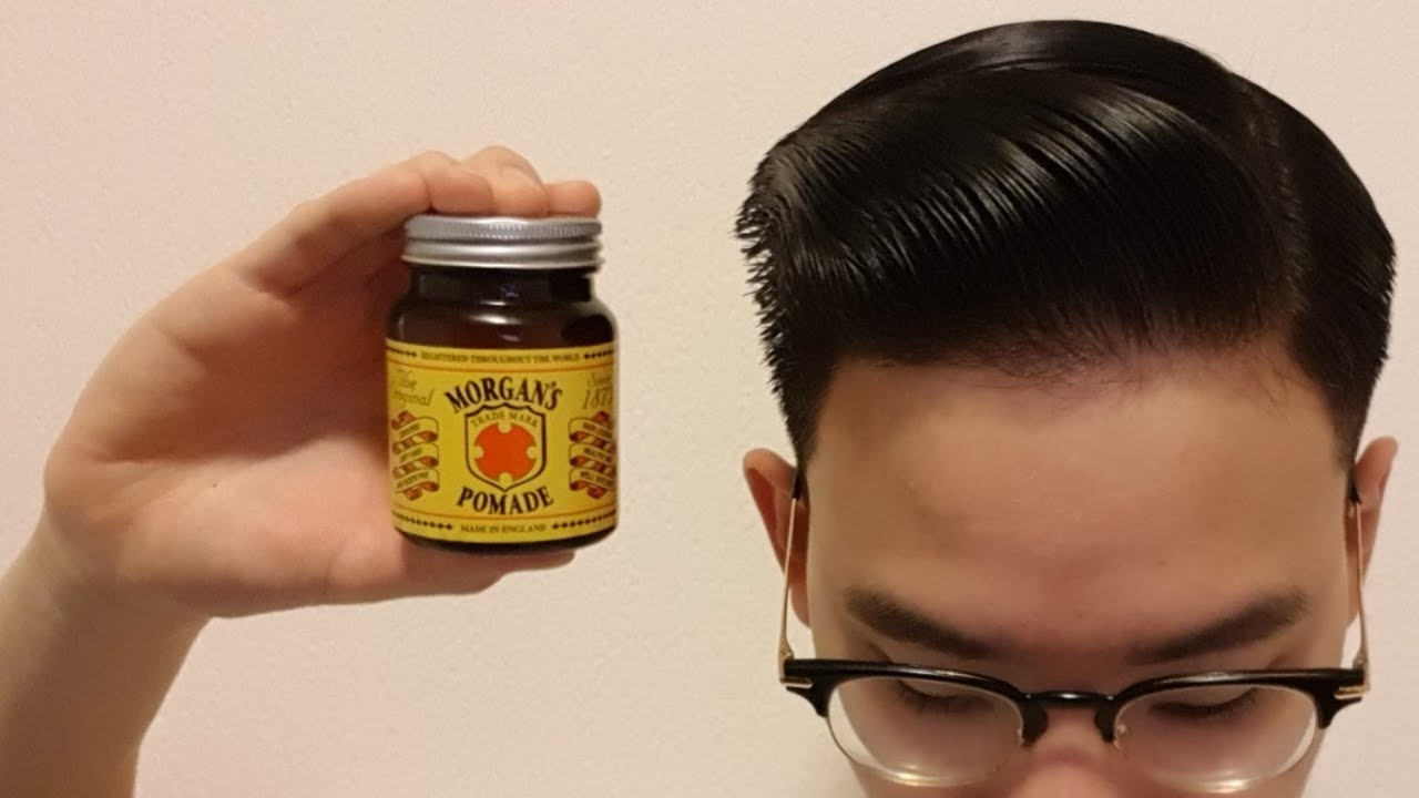 morgans pomade  Morgan's Pomade Review - YouTube