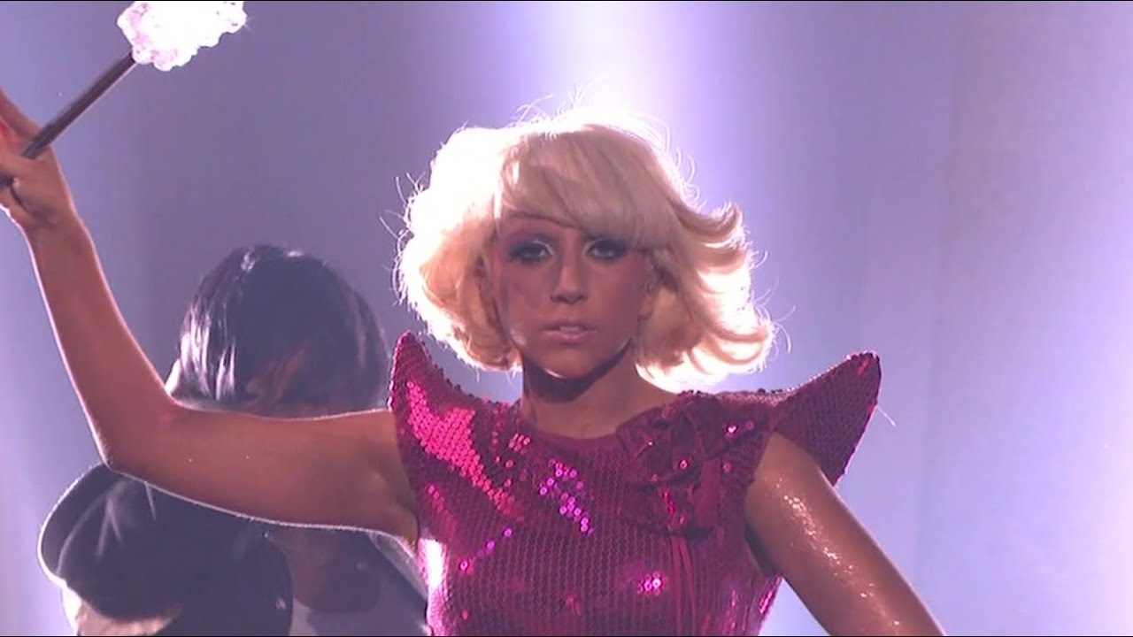 Lady Gaga - Just Dance and LoveGame Live at Dancing with the Stars (May 12, 2009)
