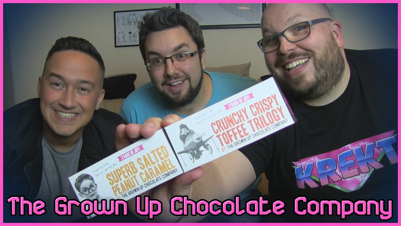The Grown Up Chocolate Company Review Toffee Peanut Ones