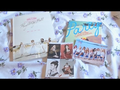 [Unboxing] Girl's Day 걸스데이 - Love | SNSD 소녀시대 - Party single