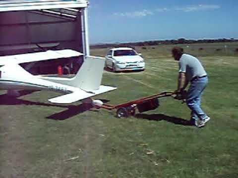 Qwerty's aircraft tug