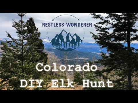 Colorado DIY Elk Hunt | GMU 83 | 3rd Rifle 2019