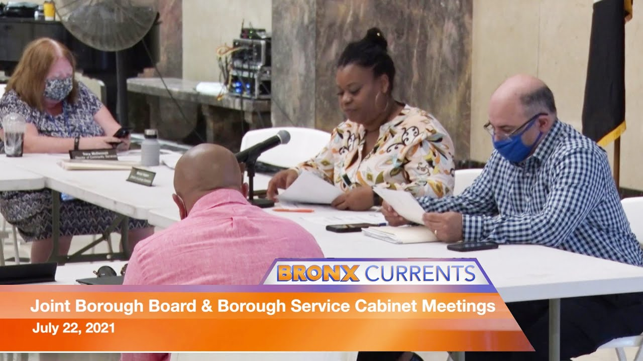 BronxCurrents: Joint Borough Board & Borough Service Cabinet Meetings