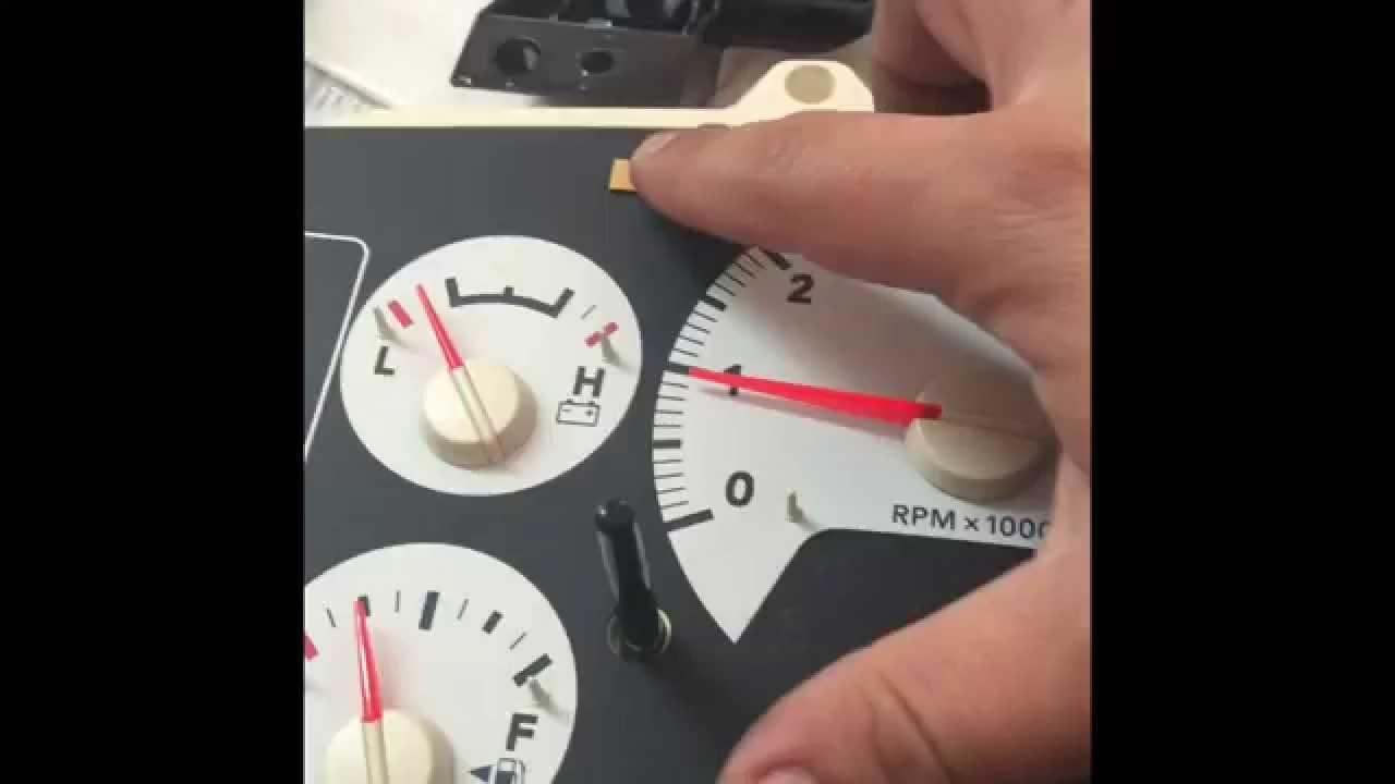 2006 dodge ram rpm tachometer repair [ 1280 x 720 Pixel ]